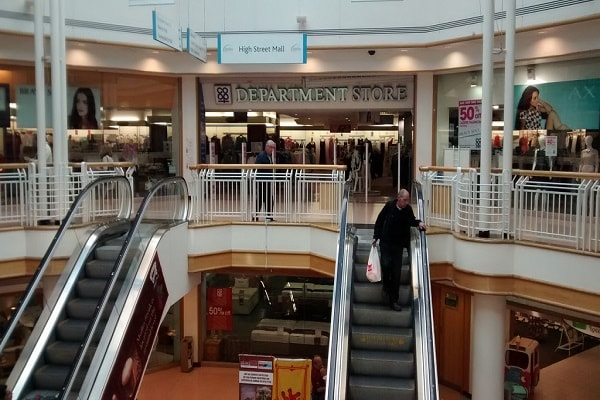 Shopping in Paisley